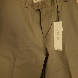 Brand new CALVIN KLEIN stretch slim fit pant